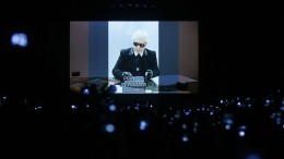 Die letzte Fendi-Kollektion von Karl Lagerfeld