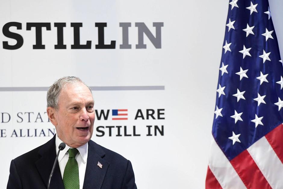 Lässt kein gutes Haar an Donald Trumps Klimapolitik: Michael Bloomberg in Madrid