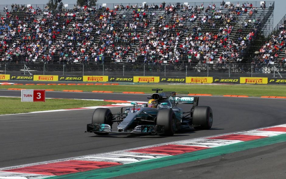 Auch wenn es im Qualifying nur für den dritten Startplatz reichte, kann sich Lewis Hamilton schon mit einem fünften Platz im Rennen zum Weltmeister krönen.