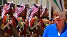 Merkel lobt Jordaniens Leistungen