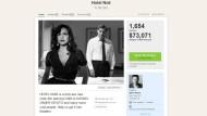 """Ziel erreicht: 1654 Unterstützer bewilligten bisher auf der Seite Kickstarter insgesamt 73.071 Dollar für den Film """"Hotel Noir"""""""