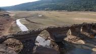 Nur ein Rinnsal: Ein ehemals reißender Fluss nahe La Muedra in Spanien.