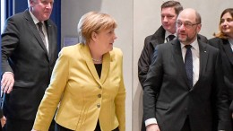 Spitzentreffen von Union und SPD am Mittwochabend