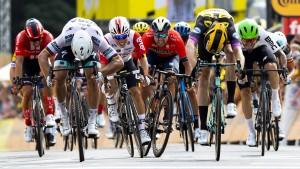 Voll Stoff bei der Tour de France