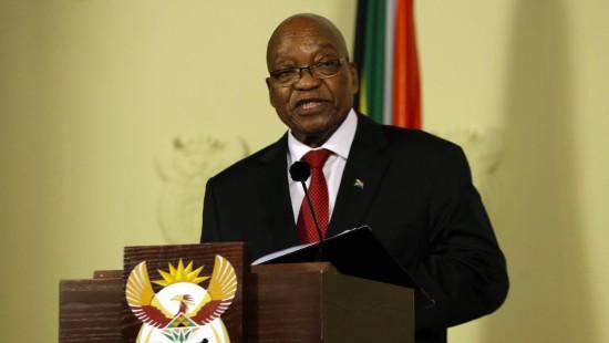 Südafrikanischer Präsident Zuma tritt zurück