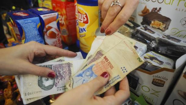Kopie von Argentinien - Geldscheine