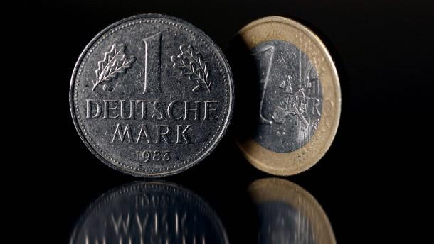 D-Mark - Euro