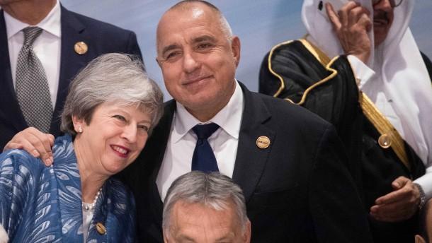 Der Brexit ist immer im Gepäck