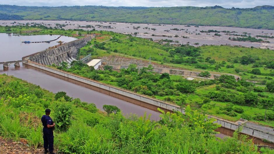 Schon heute liefern im Kongo zwei Kraftwerke Energie.