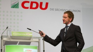 Unionspolitiker warnen vor Annäherung an SPD