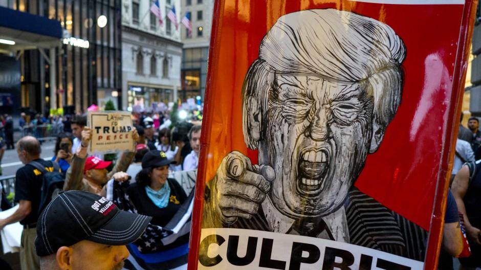 Donald Trump: Ein Präsident, der Terrorismus toleriert