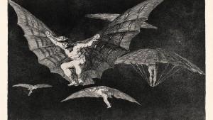 In der Luft warten die Monster