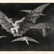 """Den Vögeln abgeschaut: Goyas """"Eine Art zu Fliegen"""" sieht ziemlich anstrengend aus."""