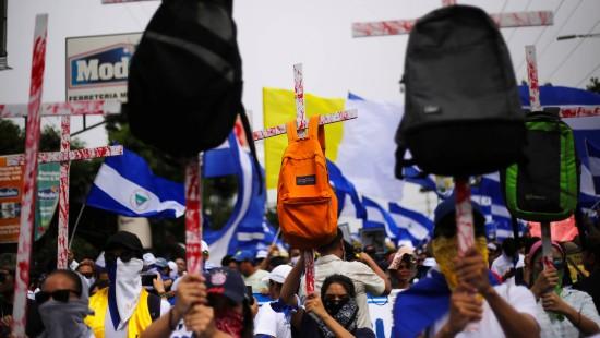 Nicaraguas Präsident weist Verantwortung zurück