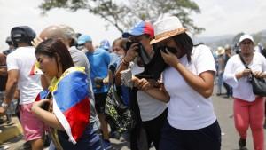 UN werfen Venezuela Menschenrechtsverletzungen vor
