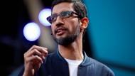 """""""Eine großartige App-Plattform"""": Google-Chef Sundar Pichai will das Brüsseler Urteil anfechten"""