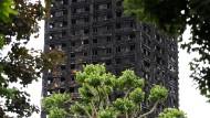 Grenfell-Tower in London: Mindestens 80 Menschen kamen in den Flammen ums Leben.