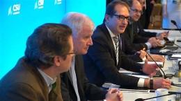 CSU will große Koalition mit SPD