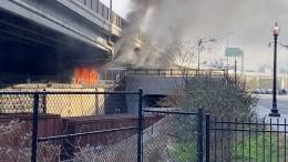 Feuer unweit des Kapitols ausgebrochen