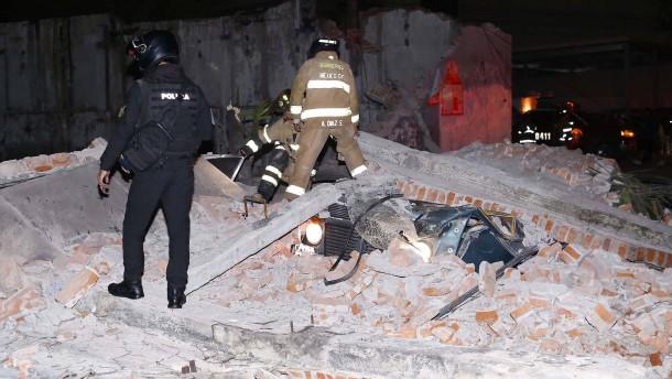 Tote bei Erdbeben