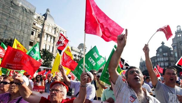 Portugal zittert vor Griechenland