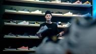 Spekulationsobjekt: Martin Schreibers Schuhe sind Sammlerstücke.