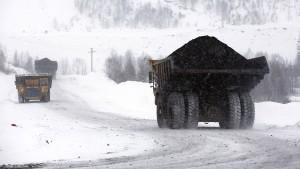 Wo der schwarze Schnee fällt