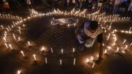 Gedenken an die ermordete Kandidatin Karina Garcia Anfang September