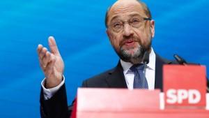 Angreifen, Martin Schulz!