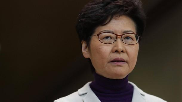 Carrie Lam kritisiert amerikanische Gesetze