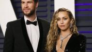 Haus in Trümmern, Ehe intakt: Miley Cyrus und Liam Hemsworth.
