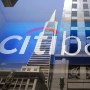 Hoch hinaus: Logo der Citibank in San Francisco