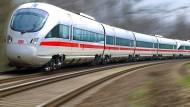 Wirbel um den Waschbeton: Unbekannte haben in Nordhessen für einige Störungen im Bahnverkehr gesorgt.