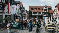 Wir streiken bis ihr handelt: Protestzug durch Michelstadt