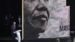 Obama würdigt Mandela