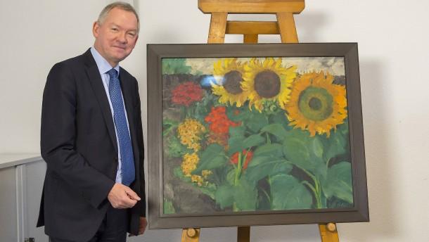 """Kunstkrimi um gestohlene """"Sonnenblumen"""" von Emil Nolde"""