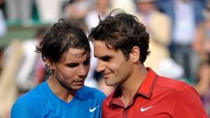 Federer und Nadal in einer Vorrundengruppe