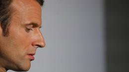 Macron erwartet Ausstieg der Amerikaner