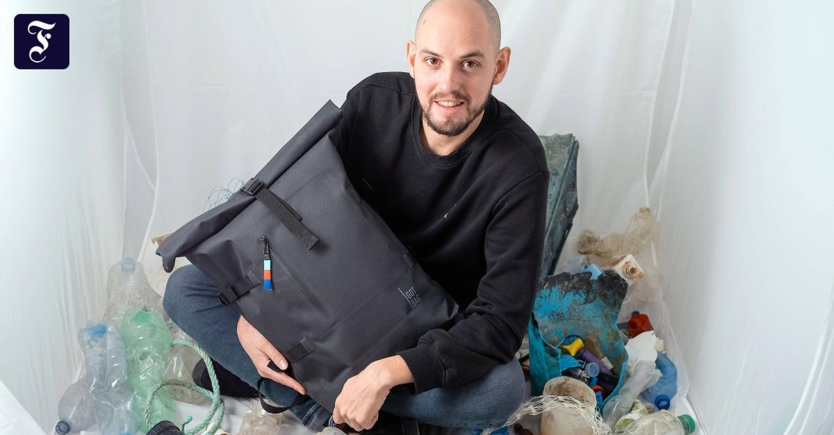 Mainzer Start-up: Rucksäcke aus Plastikmüll