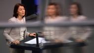 Unter Druck: Justizministerin und SPD-Kandidatin für die Europawahlen, Katarina Barley