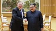 Der jetzige Außenminister Mike Pompeo hatte Kim Jong-un besucht, als er noch CIA-Chef war.