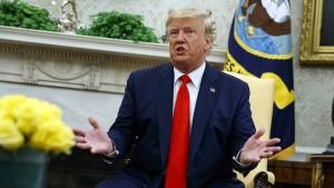Trump: Teheran will ein Treffen