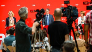 Das gefährliche Spiel der SPD