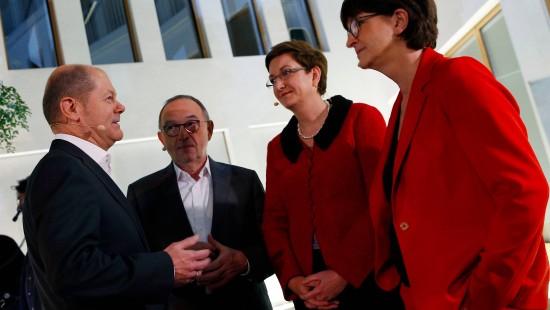 Zweite Runde im Rennen um SPD-Vorsitz