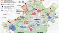 Ein integriertes Stadtentwicklungskonzept für Frankfurt: Wie werden in Zukunft welche Flächen genutzt?