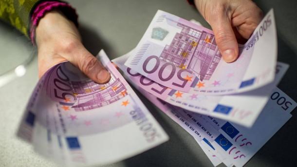 Brüssel hat es mit Bargeldbeschränkung eilig