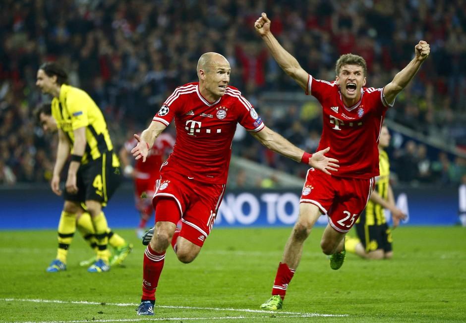 Ausgerechnet Robben: Bayern München gewinnt 2013 die Champions League.