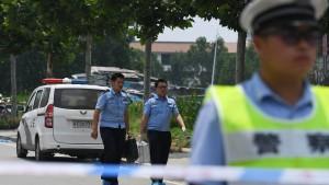 Mutmaßlicher Bombenleger bei Explosion in China getötet
