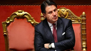 Ministerpräsident Conte kündigt Rücktritt an
