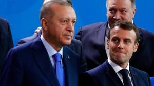 Macrons Feuerpause mit Erdogan